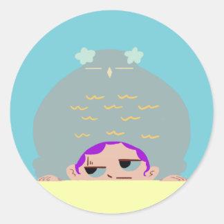 Adesivo botões engraçados do casal do he_cute