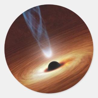 Adesivo buraco negro