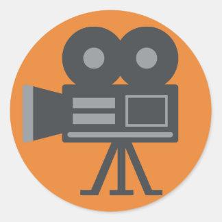 Adesivo Câmara de vídeo Emoji