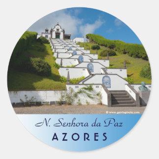 Adesivo Capela em ilhas de Açores
