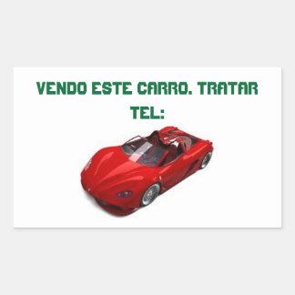 ADESIVO CARRO