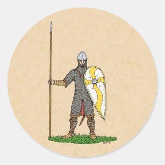 Adesivo Cavaleiro normando, cerca de 1066