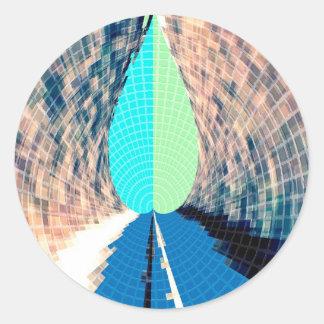 Adesivo Chama azul do diamante - imaginações