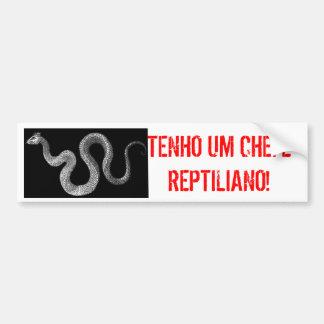 ADESIVO CHEFE REPTILIANO