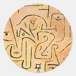 Adesivo Contemplation - Paul Klee