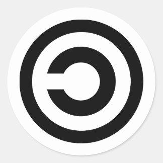 Adesivo Copyleft
