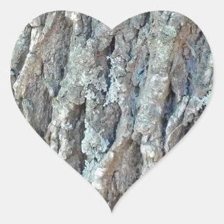 Adesivo Coração Árvore de cinza de Texas