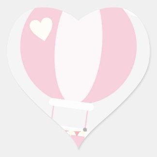 Adesivo Coração balão