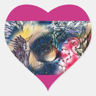 Adesivo Coração Dreamcatcher