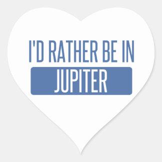 Adesivo Coração Eu preferencialmente estaria em Jupiter
