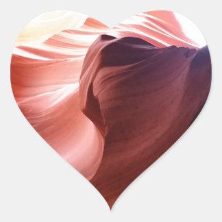 Adesivo Coração Garganta do antílope