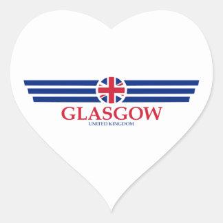 Adesivo Coração Glasgow