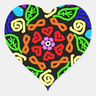 Adesivo Coração Presença amado
