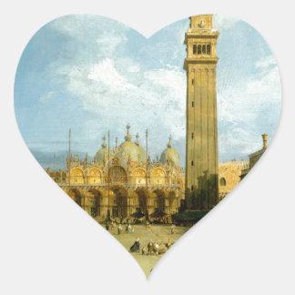 Adesivo Coração Veneza 1720