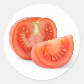 Adesivo Corte o tomate fresco