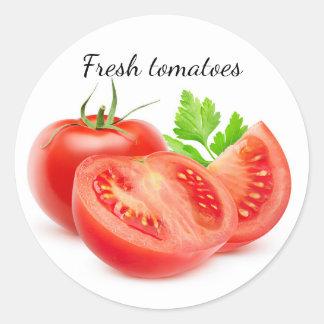 Adesivo Corte tomates