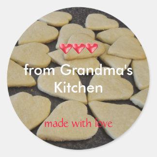 Adesivo Cozimento da cozinha das avós