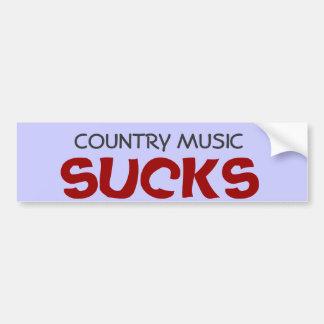 """Adesivo De Para-choque A """"música country suga"""" o autocolante no vidro"""