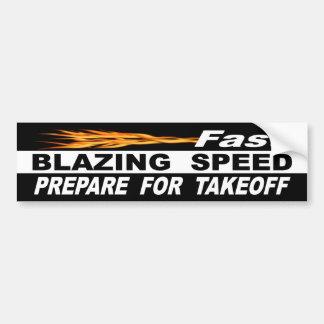 Adesivo De Para-choque A velocidade de ardência rápida prepara-se para a