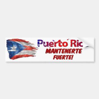 Adesivo De Para-choque Alivio de Puerto Rico - estada forte!