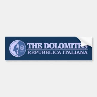 Adesivo De Para-choque As dolomites (escalar)