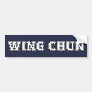 Adesivo De Para-choque Asa Chun
