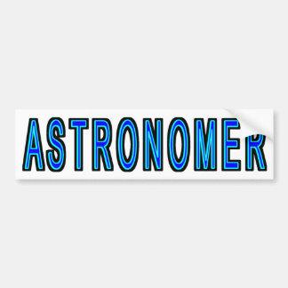 Adesivo De Para-choque Astrónomo