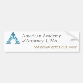 Adesivo De Para-choque Autocolante no vidro traseiro de AAA-CPA
