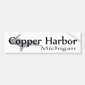 Adesivo De Para-choque Autocolante no vidro traseiro de cobre de Michigan