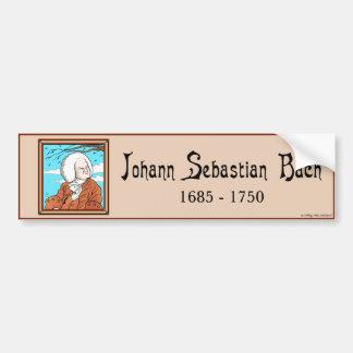 """Adesivo De Para-choque Autocolante no vidro traseiro de """"Johann Sebastian"""