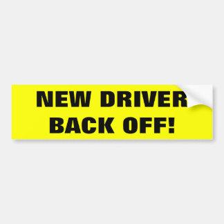 Adesivo De Para-choque Autocolante no vidro traseiro novo do motorista