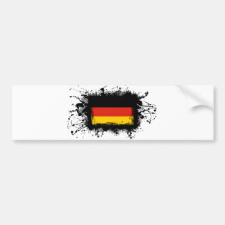 Adesivo De Para-choque Bandeira de Alemanha