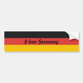 Adesivo De Para-choque Bandeira de Alemanha ou da alemanha