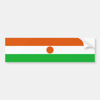Adesivo De Para-choque Bandeira de Niger