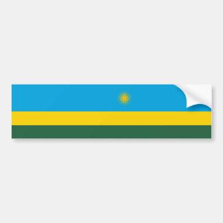 Adesivo De Para-choque Bandeira de Rwanda