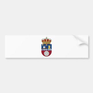 Adesivo De Para-choque Brasão de Cantábria (espanha)