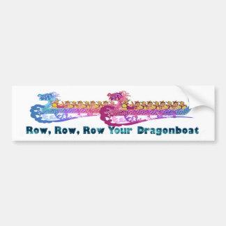Adesivo De Para-choque bumpersticker da raça do dragonboat