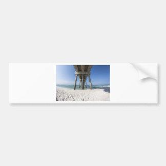 Adesivo De Para-choque Cais da praia da Cidade do Panamá