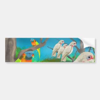 Adesivo De Para-choque Cockatoos e amigos
