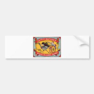Adesivo De Para-choque Competência de chicote de fios antiga Kobe da