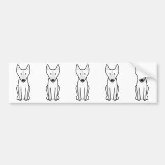 Adesivo De Para-choque Desenhos animados australianos do cão do Kelpie