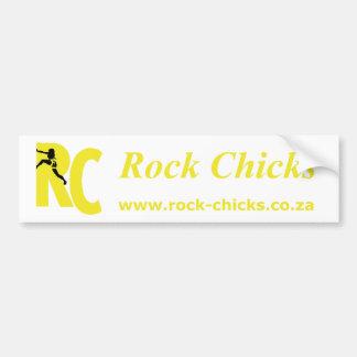 Adesivo De Para-choque Design dos pintinhos da rocha: A engrenagem do