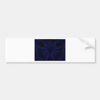 Adesivo De Para-choque DK. Laser azul