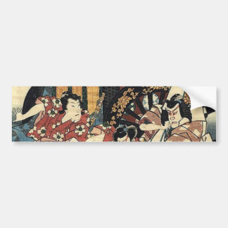 Adesivo De Para-choque espada do bushido que luta o guerreiro japonês do
