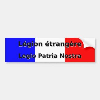 Adesivo De Para-choque Etrangere da legião - Legio Patria Nostra