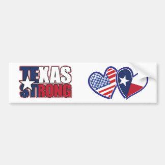 Adesivo De Para-choque EUA-Texas-Bandeira-Coração