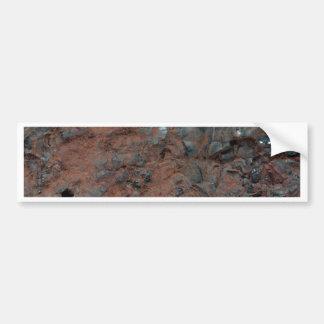 Adesivo De Para-choque Foto macro do Hematite. do minério de ferro