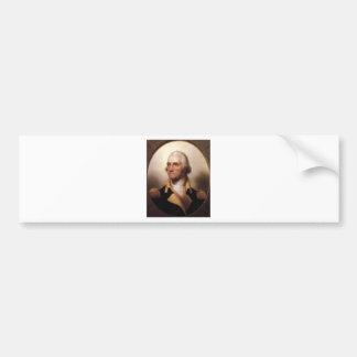 Adesivo De Para-choque George Washington