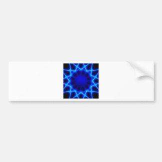 Adesivo De Para-choque laser azul #2
