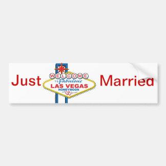 Adesivo De Para-choque Lua de mel de Las Vegas retro